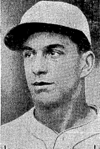 A 1934 image of Reis in The Sporting News.