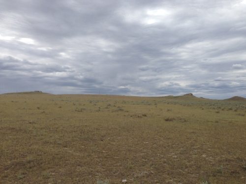 Land where Isaiah Finch grew wheat and raised sheep starting in about 1911.