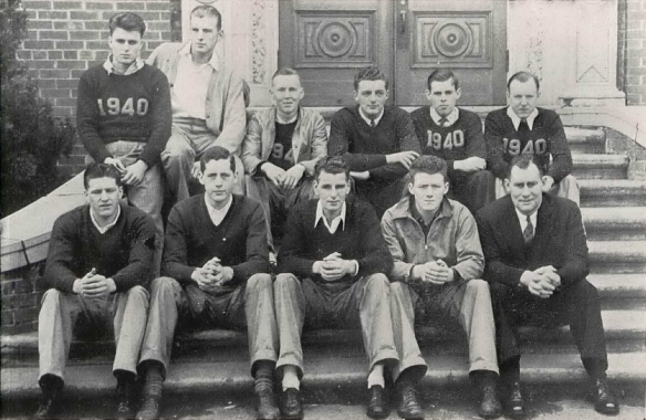 Wellington Quinn - 1937 Oregon Yearbook Basketball Team