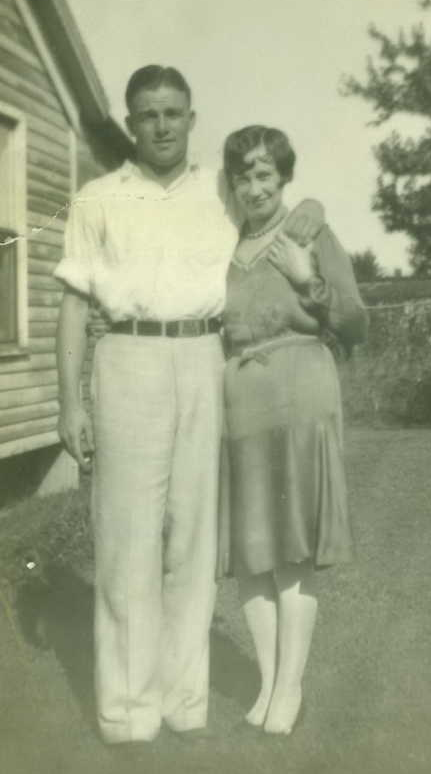 orlin-collier-with-wife-ruth-in-ft-smith-ark-1929