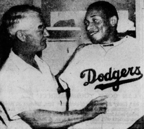 Dan Bankhead 1947 Dodgers