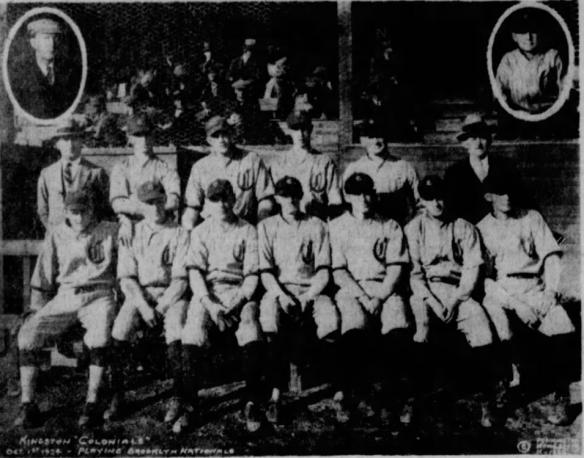 Schirick Kingston Colonels 1924