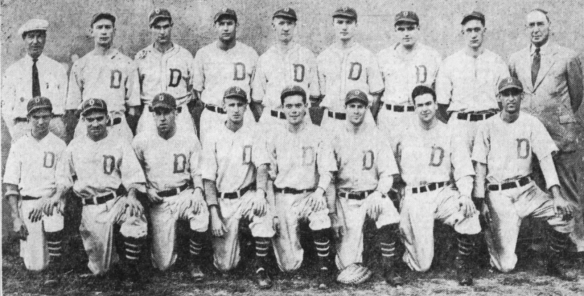 al piechota and davenport blue sox 1933