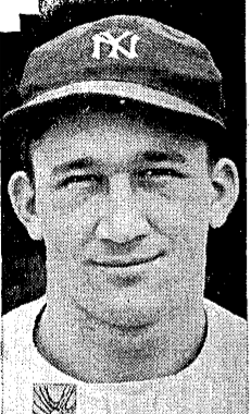 al piechota with yankees in 1939
