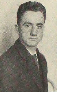 Dario Lodigiani Yearbook Photo 1934