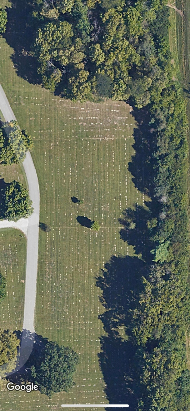 Floral Park Cemetery - Google Map View - Close Up