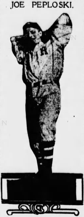 Joe Peploski - Seton Hall 1912
