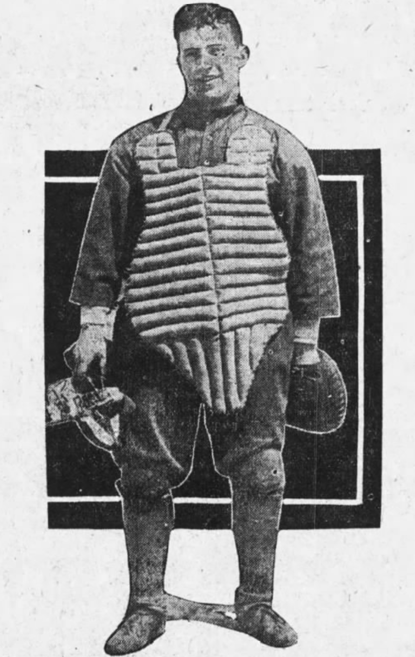 Art Rico - 1917 Boston Globe