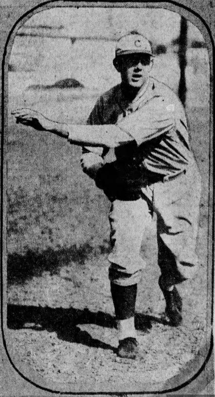 Harlan Wysong - 1931 Reds Spring Training